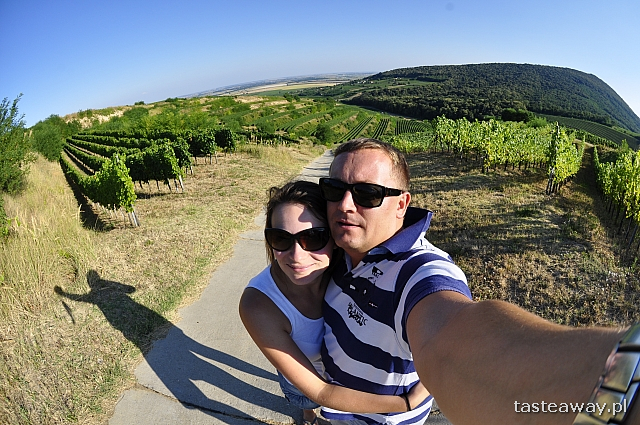 Natalia i Łukasz na węgierskiej winnicy Villany
