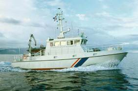 Coast Guard vessel Baldur.