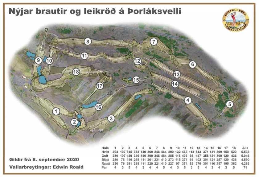 Thorlakshofn golf