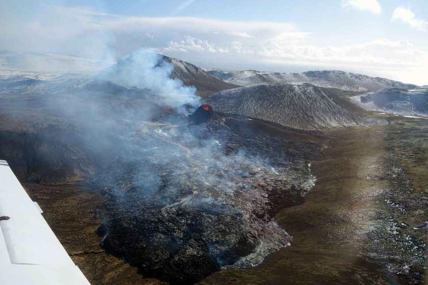 Geldingadala eruption