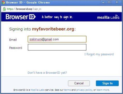 BrowserID.org Login
