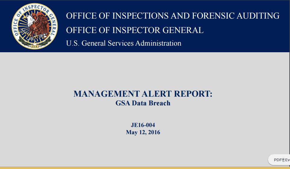 GSA 18F's unauthorized Slack use caused breach of 100 GSA