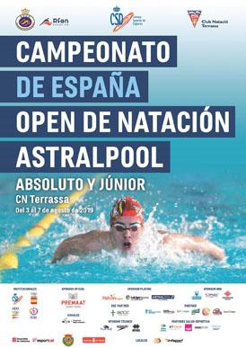 Club Natación La Roda en el CVII Campeonato de España ABSOLUTO de Natación