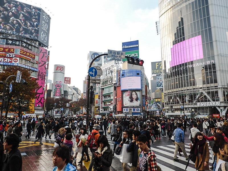Itinerario Tokyo - Shibuya Crossing