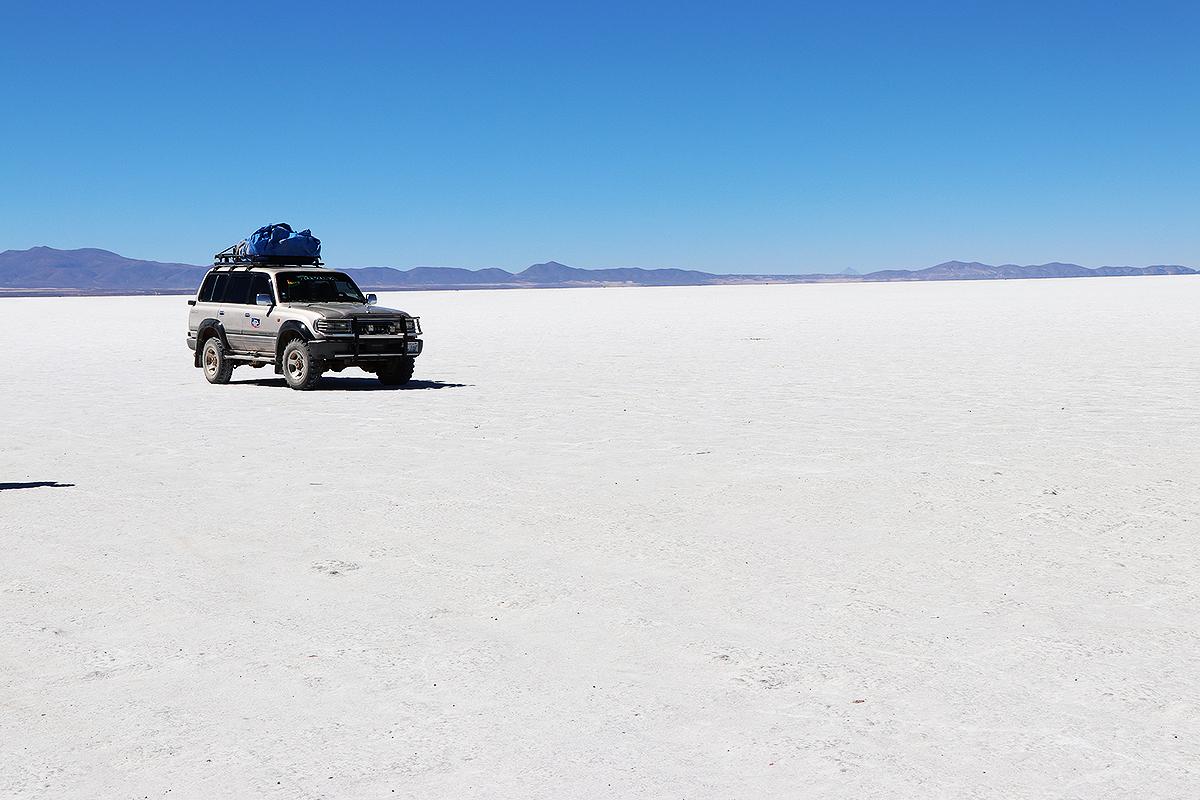 itinerario bolivia