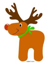 Renne di babbo natale da disegnare  Disegni di Natale
