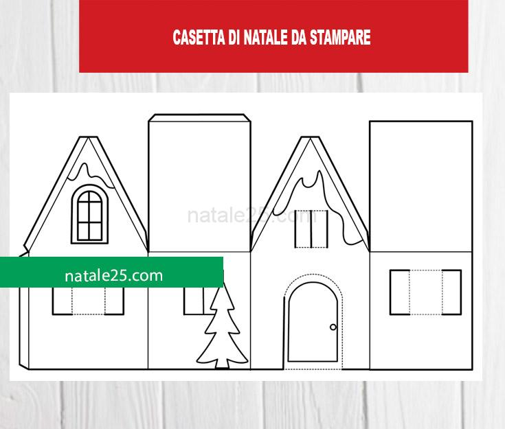 We hope you enjoyed it and if you want to download the pictures in high quality, simply right click the image and choose save as. Casetta Di Carta Da Ritagliare Natale 25