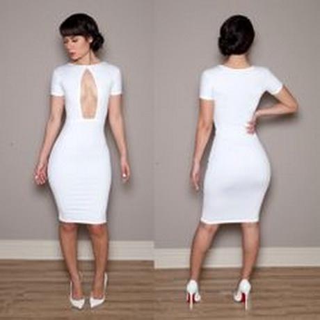 All white club dresses