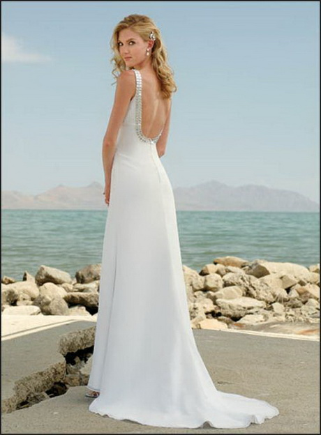 Beach style wedding dresses