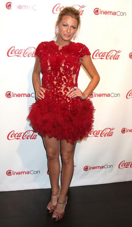 Blake lively red dress