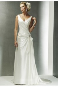 Bridal gowns for older women