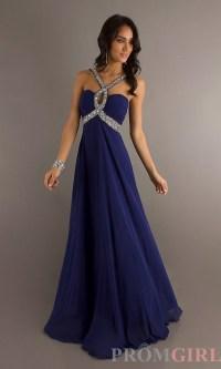 Dark blue formal dresses