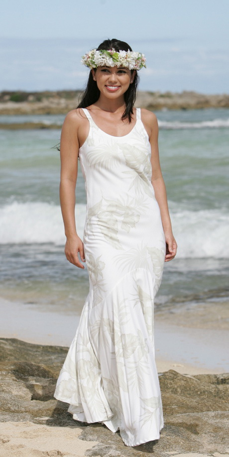 Hawaiian wedding dresses