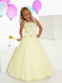 Little Girls Pageant Formal Wear Dresses