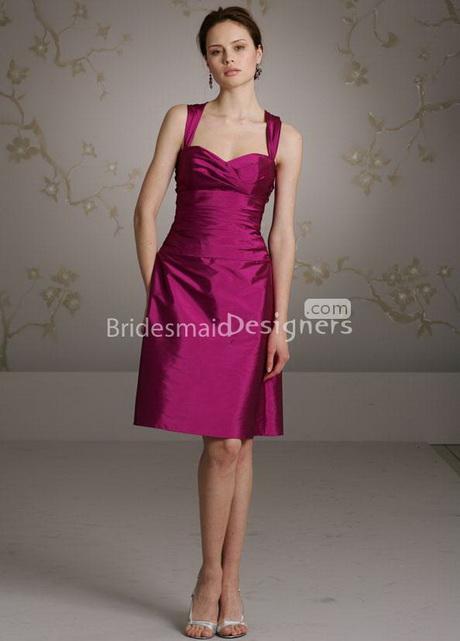 Magenta Bridesmaid Dresses