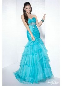 Mermaid style prom dresses