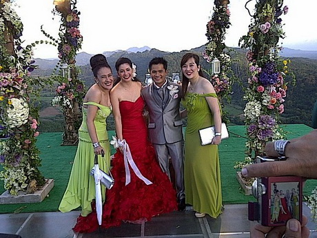 Regine Velasquez Wedding Gowns