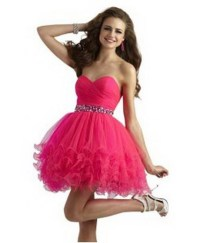 Short Poofy Skirt Prom Dresses - Holiday Dresses