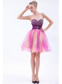 Short poofy prom dresses