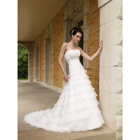 Simple summer wedding dresses