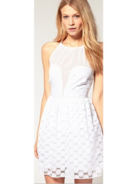 Teen White Dresses
