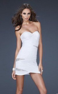 Tight short homecoming dresses