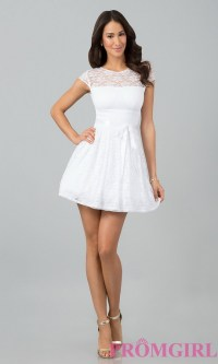 White graduation dresses for juniors