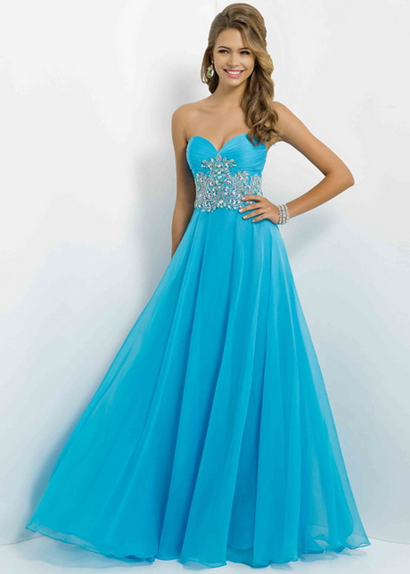 Blue Prom Dresses 2015