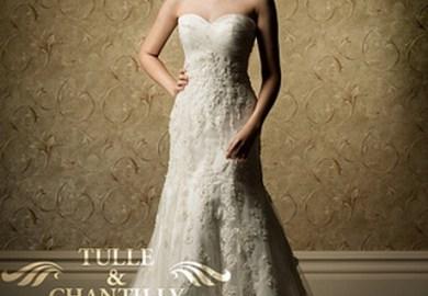 Vintage Lace Wedding Dresses Style 5986