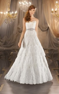 Designer lace wedding dresses vintage