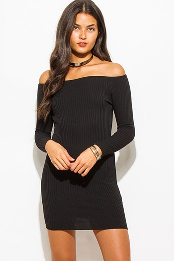 Cute long sleeve club dresses