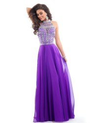 Purple prom dresses 2016
