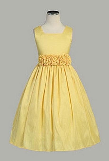 Ladies yellow dresses
