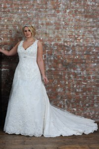 Wedding dresses for bigger ladies
