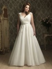 Wedding dresses for bigger women