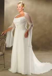 Wedding dresses for heavy women