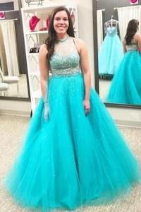 Aqua prom dresses 2017
