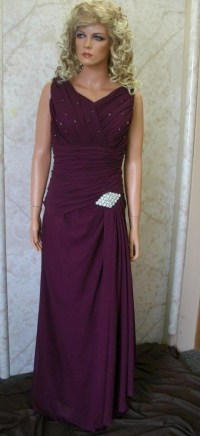 Plum colored dresses for mother of the bride