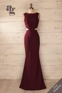 Prom dresses maroon