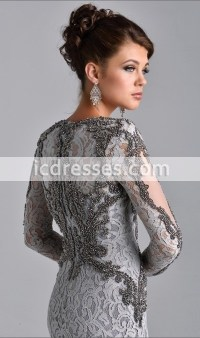 Silver Gray Mother Of The Bride Dresses - Bridesmaid ...
