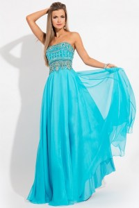 Cheap Teal Blue Prom Dresses - Plus Size Tops