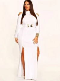 All white party dresses for women