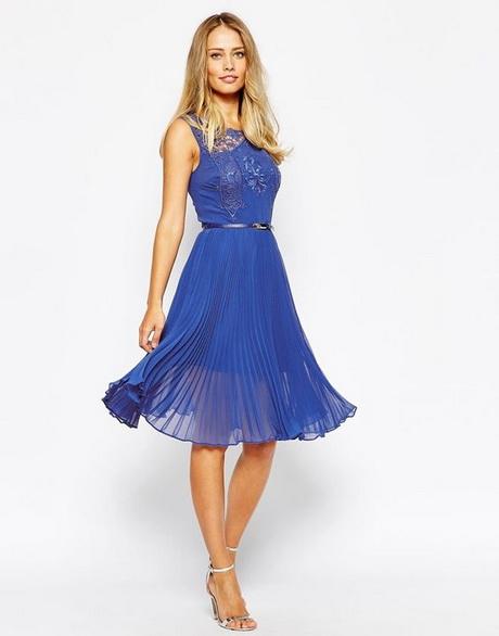 Blue wedding guest dresses