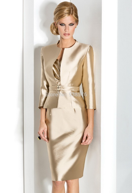 Dress and jackets for wedding guests