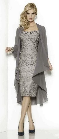 Special occasion dresses with jackets