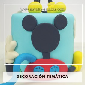 Decoración de torta temática2