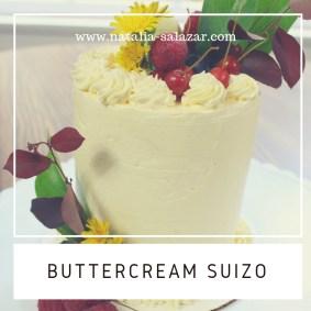 Clase 6: Buttercream suizo y decoración de torta.