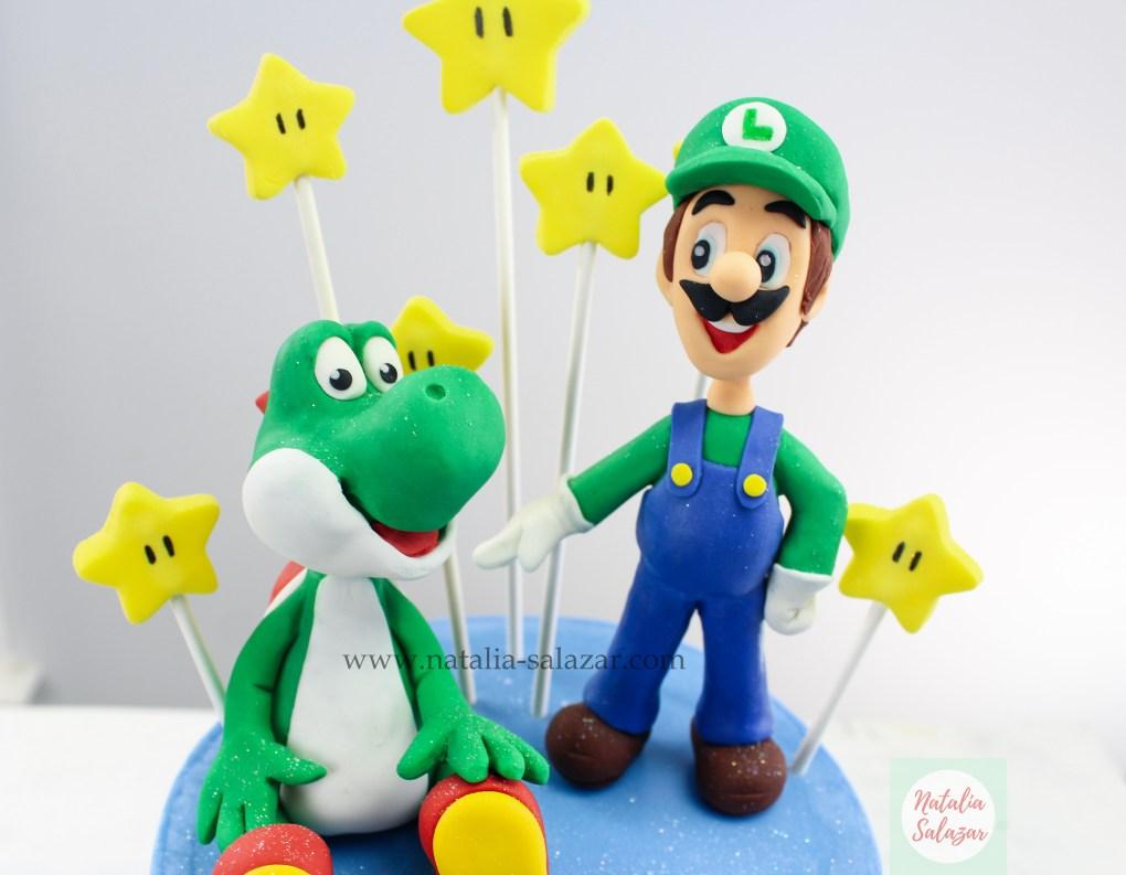 Super mario bros cake tutorial paso a paso