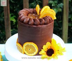 Natalia Salazar recetas torta naranja