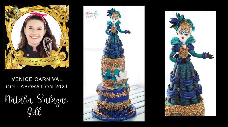 Natalia Salazar fondant cake art